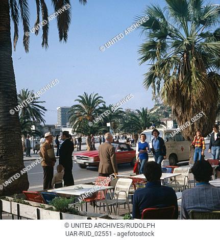 Urlaub in Split, Kroatien, Jugoslawien 1970er Jahre. Vacation in Split, Croatia, Yugoslavia 1970s