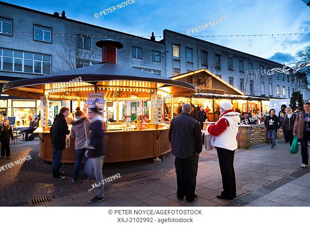 Tradition christmas street market