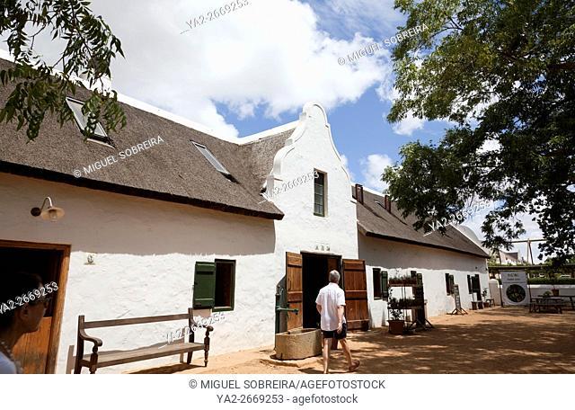 Farmstall at Babylonstoren farm near Franschhoek in Western Cape - South Africa