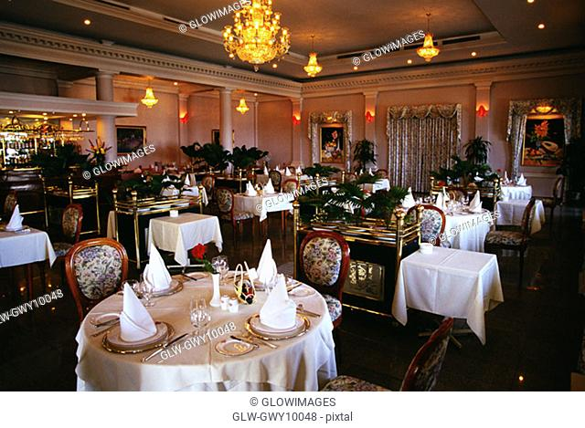 French restaurant, Majestic Hotel, Ho Chi Minh City (formerly Saigon) Vietnam