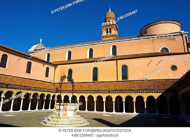 Chiesa di San Michele in Isola, Renaissance style church (1489), San Michele island, Venice, Italy