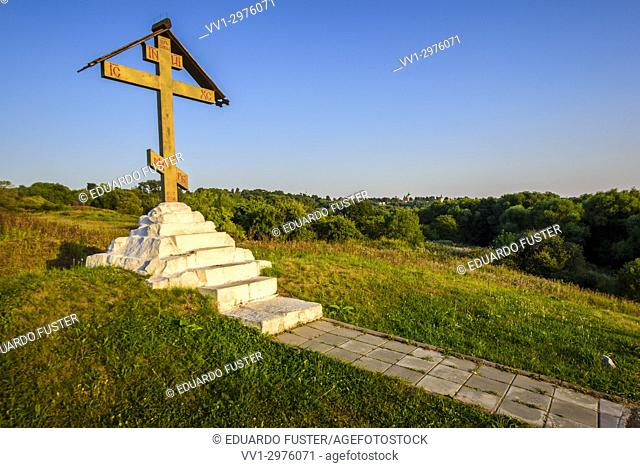 Calvary on the White well, Zaraysk, Moscow region (Russia)