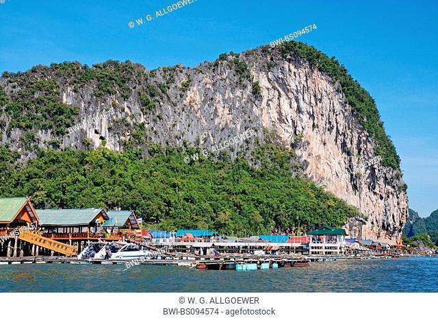 muslim fishing village, Thailand, Phang Nga, Ko Panyi