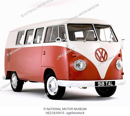 1963 Volkswagen Devon Camper van. Artist: Unknown