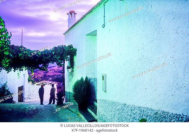 Ohanes.Alpujarras, Almeria province, Andalucia, Spain