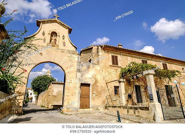 Monasterio de Santa Maria de la Real , gotico mediterraneo, bien de interes cultural,Secar de la Real, Palma, Majorca, Balearic Islands, Spain