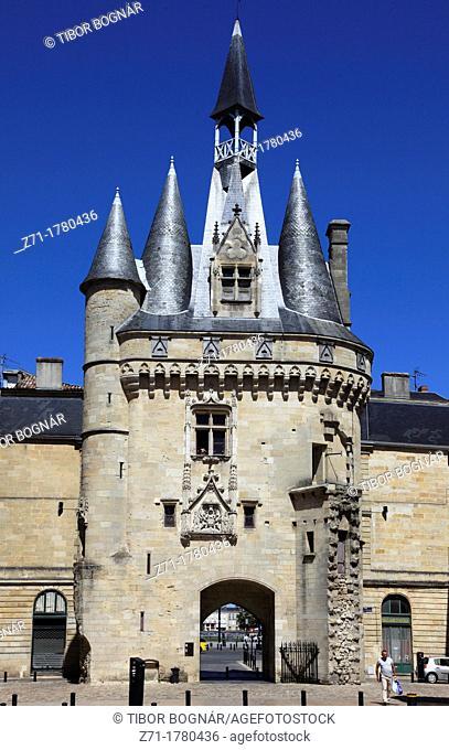 France, Aquitaine, Bordeaux, Porte Cailhau