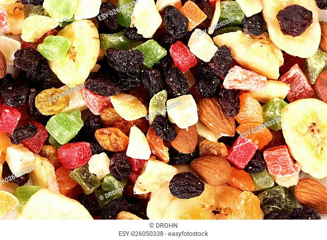 dried fruits texture