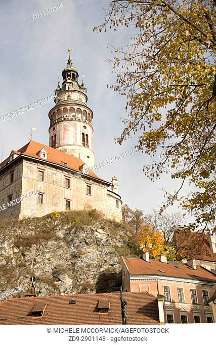 The castle at Cesky Krumlov