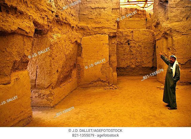 Amorite royal palace of Zimri-Lim (ca. 2000 BC), Mari, Syria