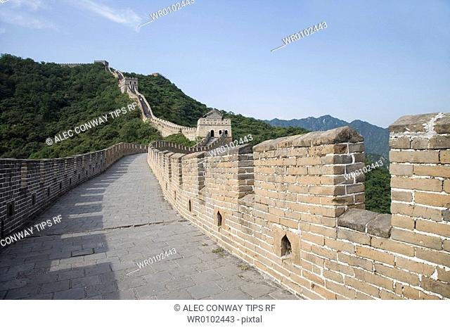 China, Beijing, The Great Wall at Mutyanyu