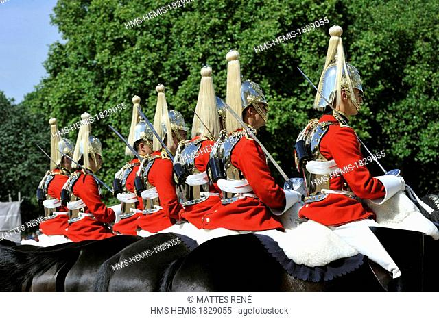 United Kingdom, London, Westminster District, Horse Guards Barrack, Changing the Guard
