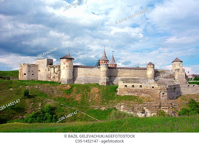 ,Kamieniec Podolski, old castle, High Castle,forteress,12th-18th