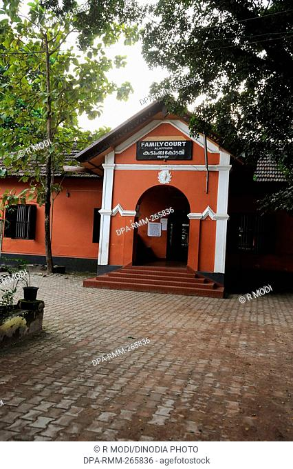 Family Court, Kidangamparambu, Alappuzha, Kerala, India, Asia
