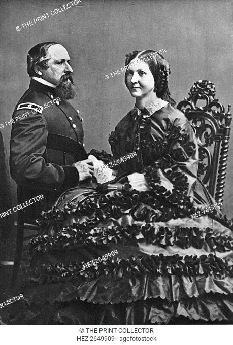 'James B. and Fannie Ricketts', c1860, (1939). Artist: Mathew Brady