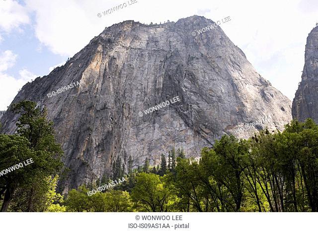 View of mountains, Yosemite National Park, California, USA