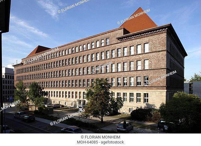 Duisburg, Haus Ruhrort, sogenanntes Tausendfensterhaus 1925