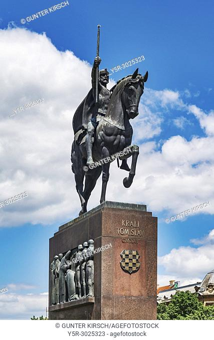 The equestrian statue of Tomislav is located on the King Tomislav square in front of the central railway station. Tomislav reigned between 910 and 928 and is...