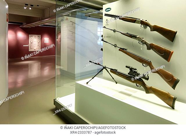 Museo de la Industria Armera (Arms Industry Museum), Eibar, Gipuzkoa, Basque Country, Spain