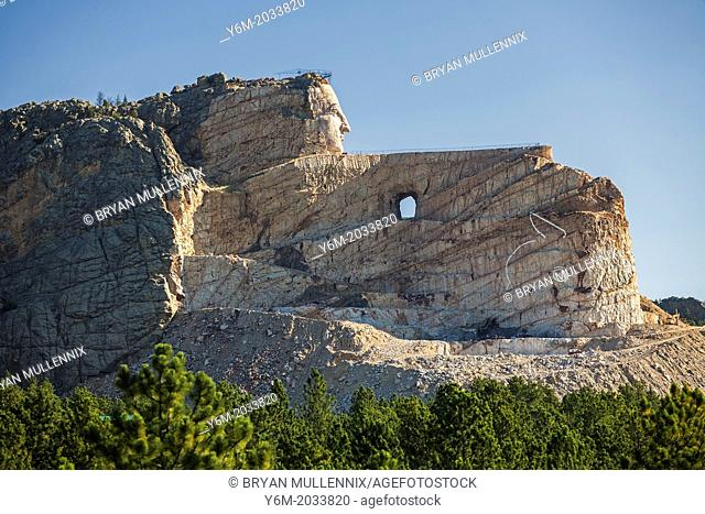 Crazy Horse Memorial, Black Hills, South Dakota (For Editorial Use Only)