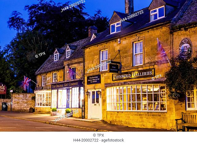 England, Gloucestershire, Cotswolds, Stow-on-the-wold