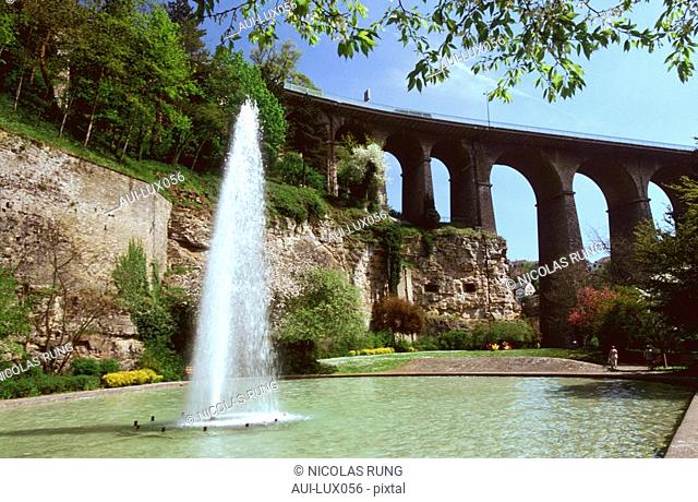 Luxembourg - Luxembourg City - Petruss Valley Park