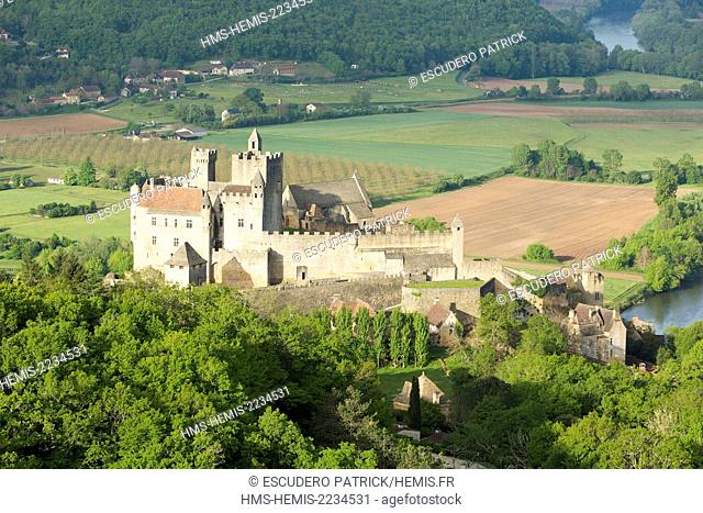 France, Dordogne, Perigord Noir, Beynac et Cazenac labelled Les Plus Beaux Villages de France (The Most Beautiful Villages of France)
