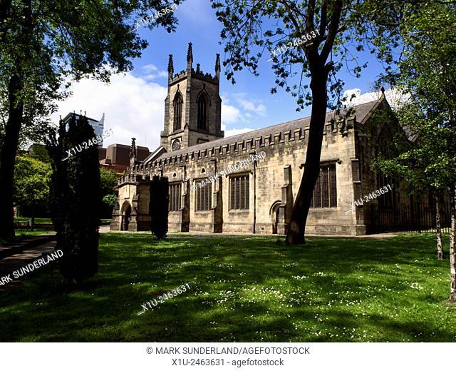 St John the Evangelist Church on New Briggate Leeds West Yorkshire England