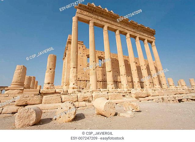 Ruins in Palmira, Syria