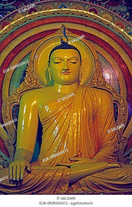 Seated Buddha,Sri Lanka