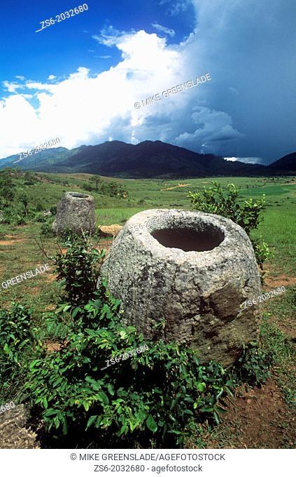 Plain of Jars , Xieng Khouang , near Phonsavan , Laos