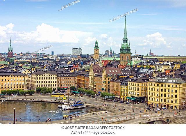 Gamla Stan district, Stockholm, Sweden (June 2009)