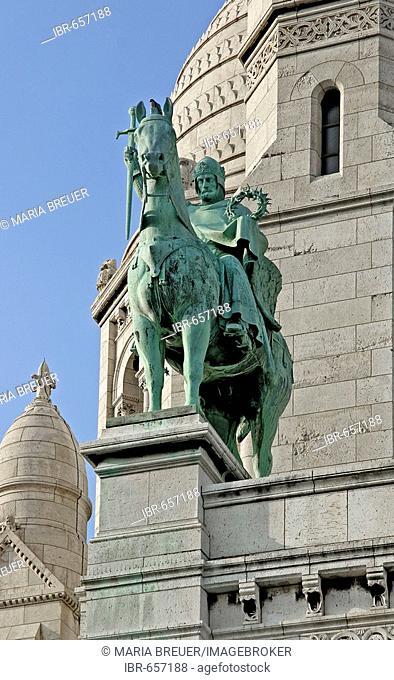 Detail, Sacré-Coeur Basilica, Paris, France, Europe