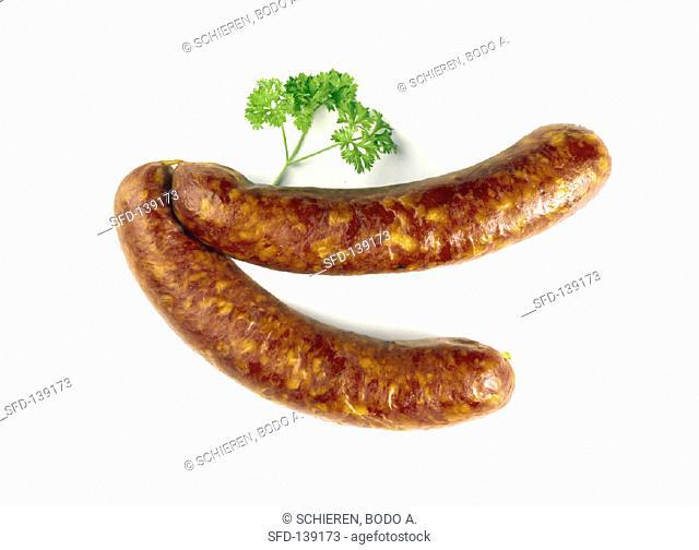 Two Sausage Links