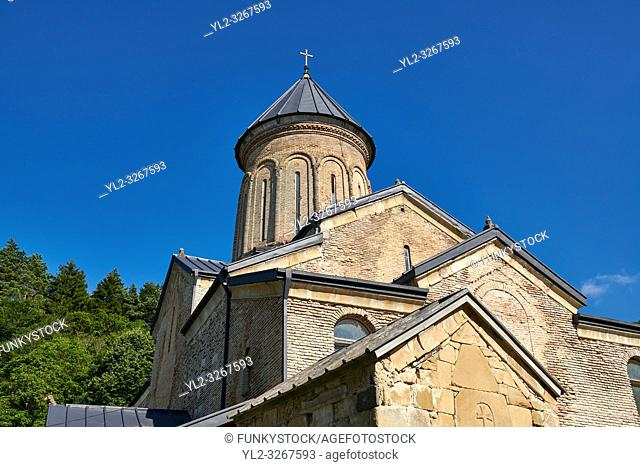 Pictures and images of St Nicholas Church in the historic medieval Kintsvisi Monastery Georgian Orthodox Monastery complex, Shida Kartli Region