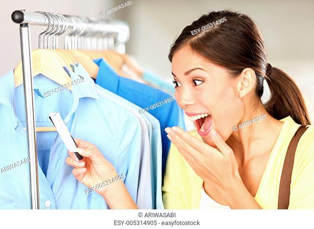Shopper surprised over sale price