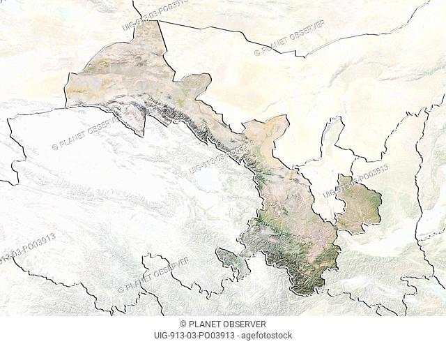 Gansu China Map.Map Province Gansu Stock Photos And Images Age Fotostock