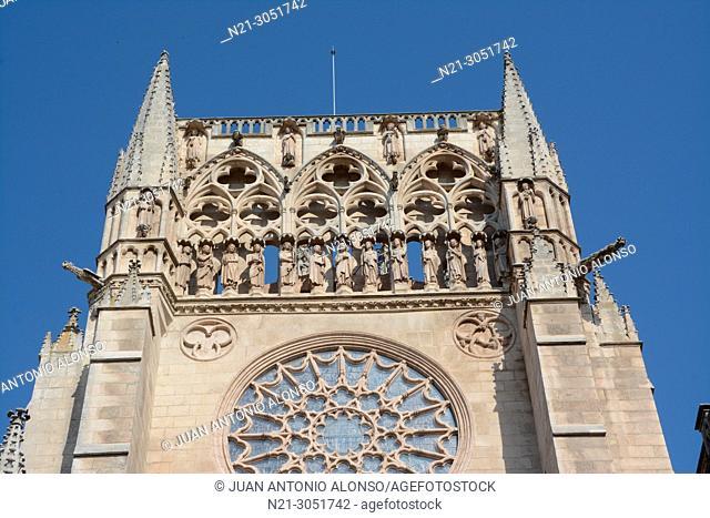 Santa Iglesia Catedral Basílica Metropolitana de Santa María. Detail. Burgos, Castlla y León, Spain