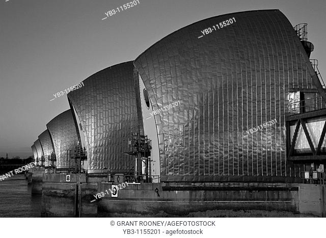Thames Flood Barrier, London, England