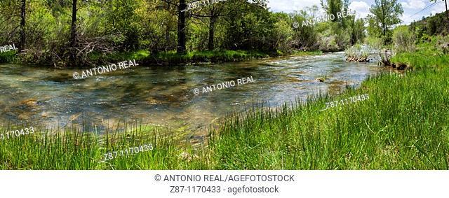 Jucar river, Huelamo, Serrania de Cuenca Natural Park, Cuenca province, Castilla-La Mancha, Spain