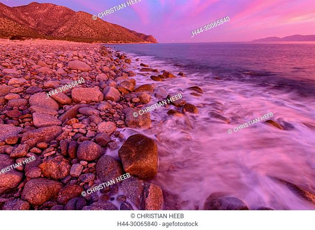 Central America, Mexico, Baja California, Sea of Cortez, Punta Gorda