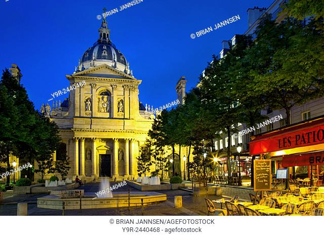 College of Sorbonne, originally a theological school founded in 1253, now a public university, Paris, France