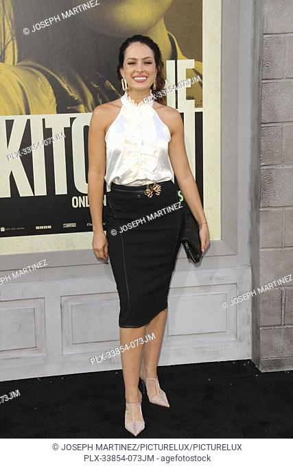 "Sofia Lama at Warner Bros. Pictures' """"The Kitchen"""" Premiere held at the TCL Chinese Theatre, Los Angeles, CA, August 5, 2019"