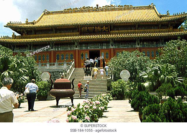Lantau MonasteryLantau IslandHong KongChina
