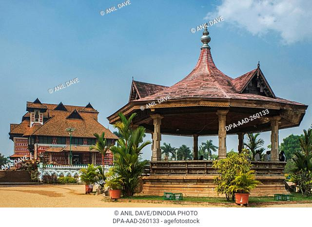 band stand in front of Napier Museum, Trivandrum, kerala, India, Asia