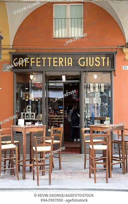 Cafe Giusti with Portico, Modena, Italy