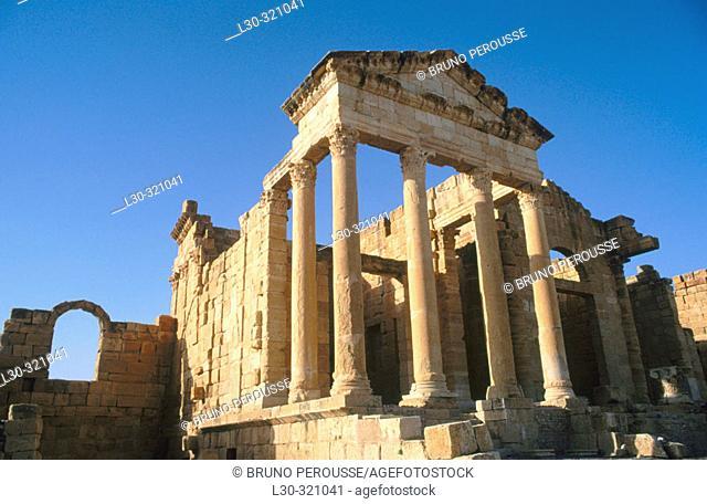 Sbeitla site. Tunisia