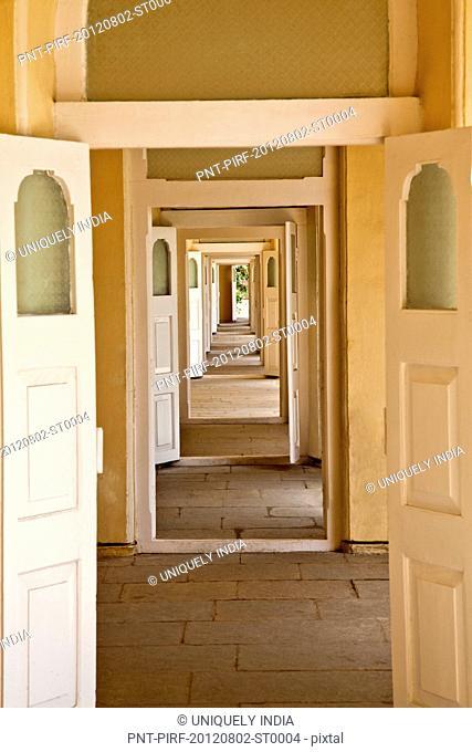 Interior of the Palace, Chowmahalla Palace, Hyderabad, Andhra Pradesh, India