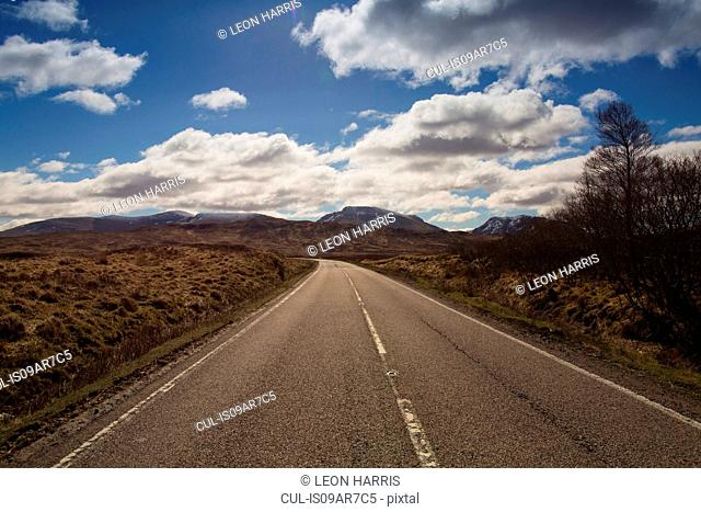 The A82 between Glencoe and Rannoch Moor, Highlands, Scotland