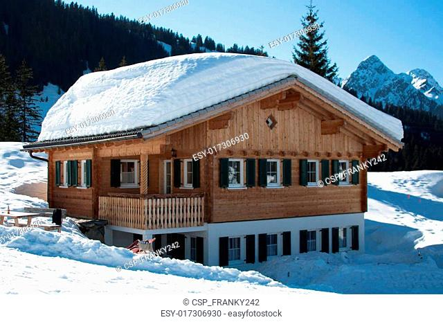 Skiing hut in Montafon